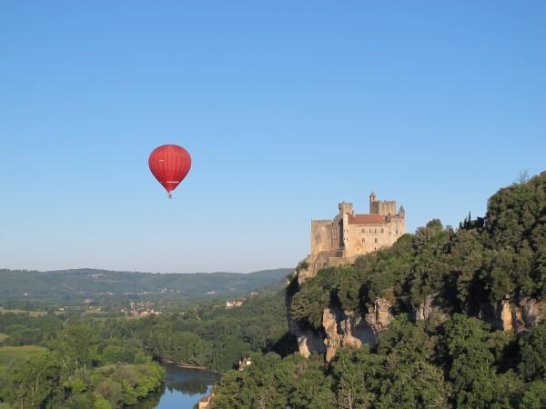 Beynac en montgolfière